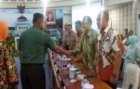 KPT GORONTALO MENGHADIRI ACARA RAMAH TAMAH dengan PANGDAM XIII MERDEKA