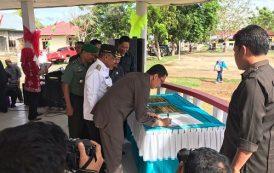Penyampaian Sosialisasi Hukum di Kecamatan Dulupi Kabupaten Boalemo