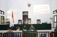 Rapat Bulanan Bulan Nopember 2017 Pengadilan Negeri Tilamuta Kelas II