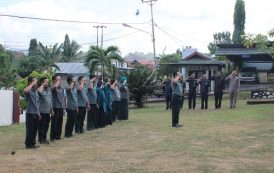 Upacara Peringatan Hari Kesaktian Pancasila 1 Oktober 2018 Pengadilan Negeri Tilamuta Kelas II