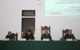 Pengawasan Reguler Pengadilan Tinggi Gotontalo pada Pengadilan Negeri Tilamuta