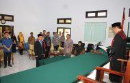 Pengambilan Sumpah Jabatan dan Pelantikan Panitera Pengadilan Negeri Tilamuta Kelas II