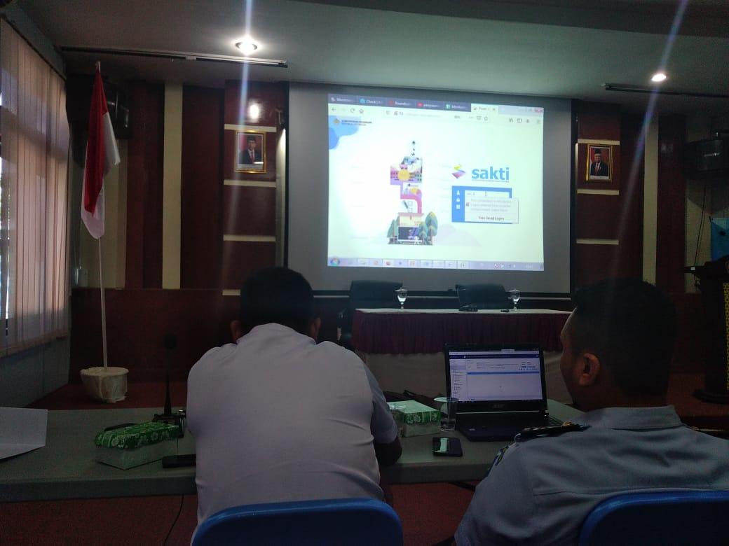 """Wajah Baru Aplikasi Keuangan """"SAKTI"""",  PN Tilamuta mengutus 2 Operator Andalan untuk ikut End User Training"""