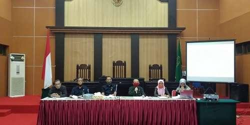 """Pembagian SHU 2019 dan Pemilihan Pengurus Koperasi """"Paguyuban"""" Pengadilan Tinggi Gorontalo"""