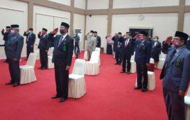 Perayaan Upacara Hari Jadi Mahkamah Agung Republik Indonesia ke 75 pada Pengadilan Tinggi Gorontalo.