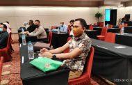 Kasub K&O PN Tilamuta dalam Acara Rekonsiliasi Provinsi Pengelolaan  Rumah Negara Golongan III