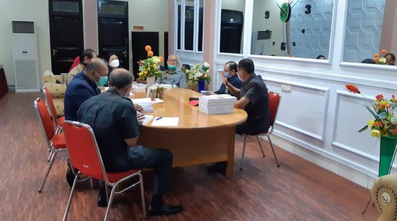 Rapat Koordinasi dan Evaluasi Pembangunan Zona Integritas Pengadilan Tinggi Gorontalo