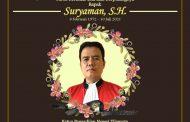 Berita Duka Cita Bapak Suryaman, S.H.