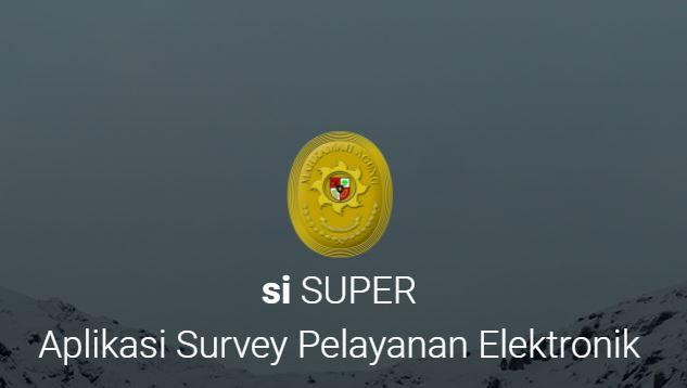 Aplikasi Survey Pelayanan Elektronik (SISUPER)