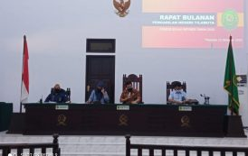 RAPAT RUTIN BULAN SEPTEMBER TAHUN 2020 PN TILAMUTA