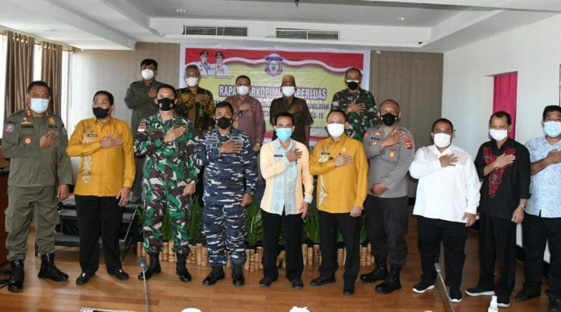 Ketua Pengadilan Tinggi Gorontalo Ikuti Rapat Forkopimda
